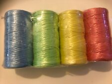 4 pack twine . Mixed  Colours