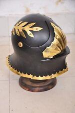 Collectible Medieval Gothic Sallet European Helmet Sca Armour Costume Replica