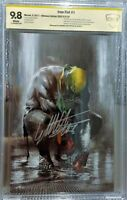 Iron Fist #1 Ultimate Variant, CBCS 9.8 NM/MT Signed by Dell'Otto Limited to 250