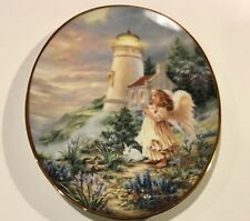 A Little Hope Lights The Way Porcelain Plate By Bradford Exchange 1998 Numbered.