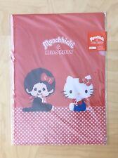 3x Monchhichi & Hello Kitty Plastic Folders from Sanrio Made in Japan