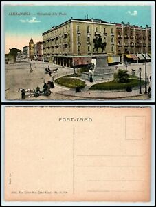 """EGYPT Postcard - Alexandria, Mohamed Aly Place """"2"""" C29"""
