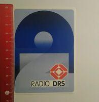 Aufkleber/Sticker: Radio Drs (230816136)