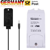Sonoff Smart Switch APP Temperatur Luftfeuchtigkeit Sensor Fernbedienung WiFi DE