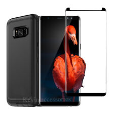 For Samsung Galaxy S8 Plus Defender Case w/ Belt Clip Holster & Screen Protector