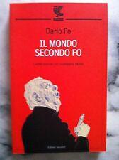 IL MONDO SECONDO FO. Conversazione con Giuseppina Manin - Dario Fo - Guanda