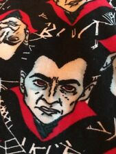 lularoe TC2 Black & White Cobwebs Vampires Dracula Eddie Munster!
