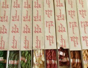 Dansk Blomstergarn Denmark 100% Cotton Embroidery Floss Flower Thread