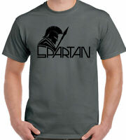 SPARTAN T-Shirt Mens Training Top Gym MMA Boxing Muscle Weightlifting Warrior