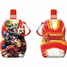 Los Vengadores Plegable Agua Botella de bebida con mosquetón: wh1/2: 505: Nuevo