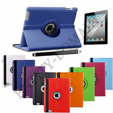 360 Degree Rotation Smart Leather Stand Case Cover For iPad Air 2 3 4 Pro Mini