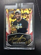 "2016-17 Panini Instant Kevin Durant Inscription ""MVP 10/17 On card Auto Warriors"