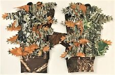 CAMO GHILLIE SHOOTING GLOVES CAMOUFLAGE HIDE ANTI SLIP STALKING AIRSOFT SNIPER
