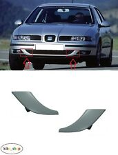 SEAT LEON 1M1 1998 - 2001 NEW GENUINE FRONT BUMPER COVERS PAIR LEFT + RIGHT