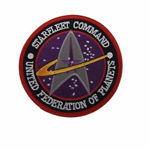 "Star Trek Classic Starfleet Command United Federation of Planets 3 1/2"" Patch"