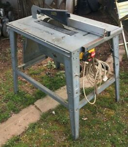 """Al Ko 12"""" Table Saw - Solid Table with Extension GWO - Herefordshire"""