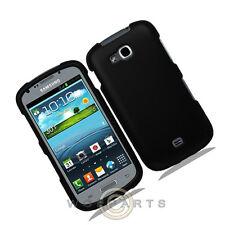 Samsung R830 Axiom Shield Rubberized Black Case Cover Shell Protector Guard