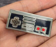 Nintendo NES Controller Control Logo Badge Pin Metal Brooches Cosplay Otaku Gift