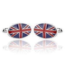 new accessories British flag electric crossing fashion quality men's Cufflinks