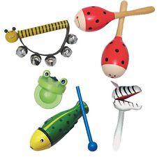 Animal Band Music Set Wooden Classic Toy Sensory Development Baby Band Daycare