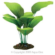 Aqua One A1-24103 Silk Plant Amazon Sword Radicans 13cm For Freshwater Aquarium
