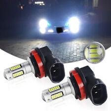 2X Super Bright Xenon White 6000K H8 30-SMD LED Fog Lamp Driving Light DRL Bulbs