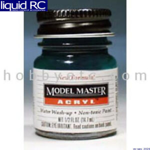 Testors 4668 Acryl Gloss 1/2oz Clear Green