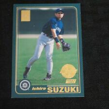 2001 Topps #726 Ichiro Suzuki Rookie Home team advantage