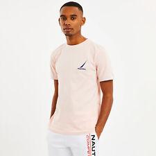 Nautica Mens Dandy T-shirt - Pink - Medium