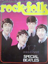 MAGAZINE ROCK & FOLK N° 118 de 1976  SPECIAL BEATLES 10 éme ANNIVERSAIRE