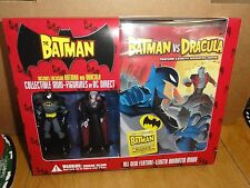 The Batman vs. Dracula (DVD) Gift Box Toy, Collectible Figurines Batman/Dracula!