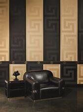 Versace Home Tapete 935234 Grafik modern barock Farbe schwarz