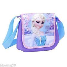 "Disney's Frozen Elsa"" Follow your heart "" Bolso Crossbody Lila Azul"