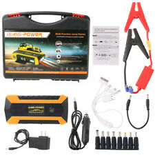 89800mAh 12V 4 USB Car Jump Starter Pack Booster Charger Battery Power Bank LED
