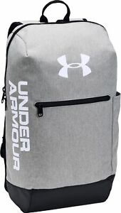 Under Armour Patterson Backpack Water Repellent Gym Rucksack Adjustable Straps