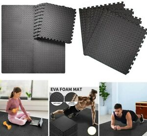 Large Rubber Interlocking Eva Soft Foam Floor Tile Exercise Yoga Gym Mats 61x61c