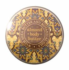 Greenwich Bay ALMOND Body Butter with Shea Butter, 8 oz.