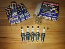 5x Volvo 850 2.4i & 2.5i Turbo y1993-1997 = Brisk YS Lpg,Gpl,Petrol Spark Plugs