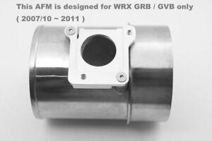 Fit Subaru Impreza WRX STi GRB GH8 GVB Alloy AFM Air Flow Meter Adaptor Intake