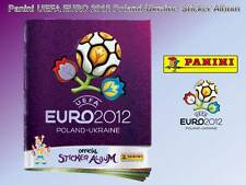 Panini Euro 2012 Sticker Album vide * 6 Free stickers football TOPPS Merlin UEFA