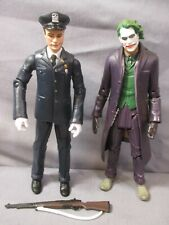 "Batman Dark Knight Rises HONER GUARD JOKER 6"" Lot Movie Masters Mattel DC"