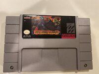 Super Ghouls 'n Ghosts (Super Nintendo Entertainment System) *Read Description*