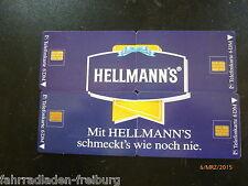 O-1533-1536 à partir de 1995 la mayonnaise Hellmann de tout nécessaire