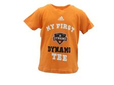 Houston Dynamo Official MLS Adidas Apparel Infant Baby Size T-Shirt New Tags