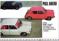 1968 BMC fase I Tuning Kit BROCHURE 850cc/998cc/1100cc/1300cc/1800cc
