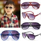 Trendy children aviator sun glasses chit cool 6 colors parim colorful for Girl