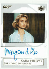 James Bond Collection 2019 Autograph Card A-BO Maryam D'Abo as Kara Milovy