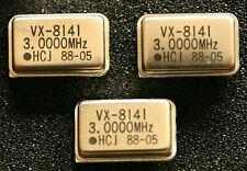 8 St. Quarzoszillator, 3,000 MHz, DIP14, Metallgehäuse