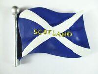 Escocia Bandera Imán Scotland Bandera 6,5 CM Poly, Recuerdo GB