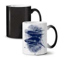 Shark Great White NEW Colour Changing Tea Coffee Mug 11 oz | Wellcoda